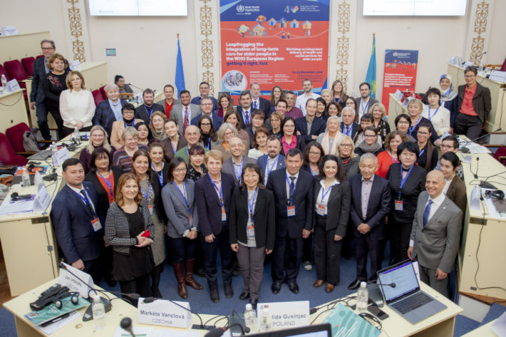 IFIC contributes to WHO workshop on the integration of long-term care and primary health care