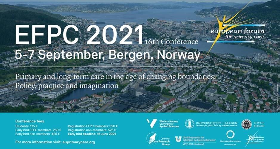 EFPC 2021 Bergen Conference